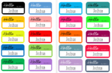 HELLO Name Labels (EDITABLE)