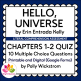 HELLO, UNIVERSE | CHAPTERS 1-2 | PRINTABLE AND DIGITAL (GO