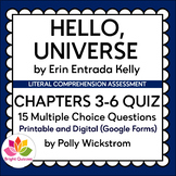 HELLO, UNIVERSE | CHAPTERS 3-6 | PRINTABLE AND DIGITAL (GO