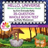 HELLO, UNIVERSE |  PRINTABLE WHOLE BOOK TEST | 35 MULTIPLE