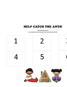 HELP CATCH THE ANTS!