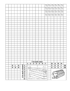 HELP FARMER BROWN PLANT HIS CROPS BY DRAWING ARRAYS