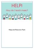 HELP! How do I teach Music?