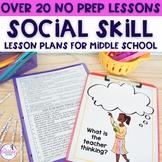 No Prep Social Skills Activities for 4th-8th grade - Dista