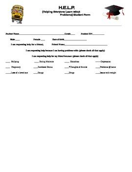 H.E.L.P. Intake referral Form