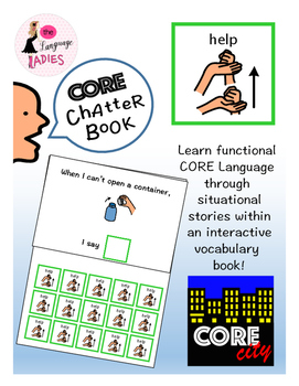 HELP: Interactive CORE City Chatter Book