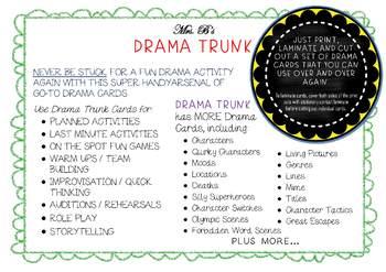 HELP SCENES : Drama / English Scene Starters
