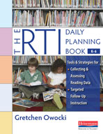 The RTI Daily Planning Book, (Kindergarten - Grade 6)