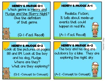 Reading Street, HENRY AND MUDGE AND THE STARRY NIGHT Resource Teacher Pack