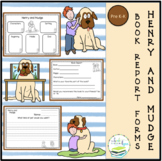 HENRY AND MUDGE BOOK REPORT FORMS