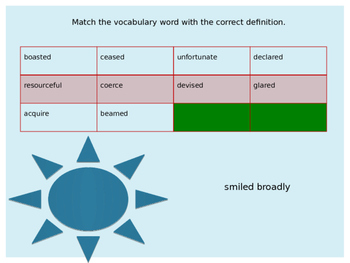 HERCULES QUEST ~ Journeys Lesson 18 Vocabulary