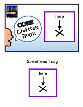 HERE: Interactive CORE City Chatter Book