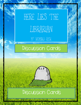 HERE LIES THE LIBRARIAN by Richard Peck * Comprehension &