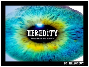 HEREDITY, Presentation, Activities and Graphic Organizers