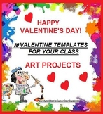 VALENTINE'S CONTEST! + 12 VALENTINES AND TEMPLATES FOR WRITING and ART!