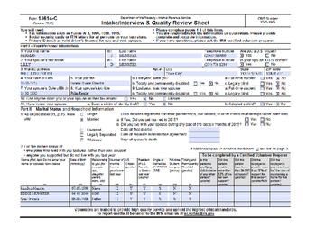 Taxes: HERMAN MUNSTER TAX RETURN
