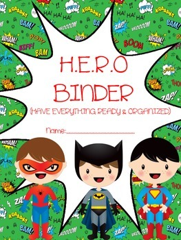 H.E.R.O BINDER COVER