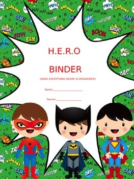 H.E.R.O BINDER COVER (EDITABLE)