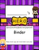 H.E.R.O. Binder Covers