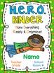 HERO Binder Covers **EDITABLE**