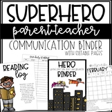 HERO Communication Binder - EDITABLE