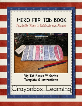 HERO Flip Book - Printable Book -   {Veteran's and Memorial Day}