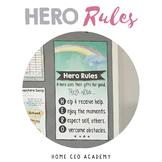 HERO Rules Posters