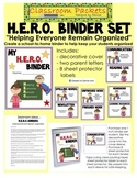 H.E.R.O. School-to-Home Communication Binder Set