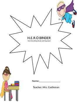 H.E.R.O. Student Binder Cover