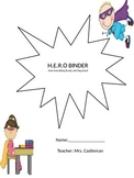 H.E.R.O. Student Binder Cover