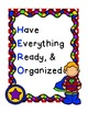 H.E.R.O. Student Organizational Binder