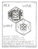 HEX WAR SIMPLE