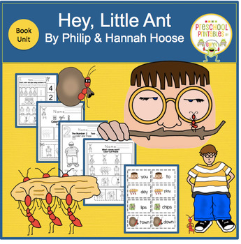 HEY, LITTLE ANT  BOOK UNIT