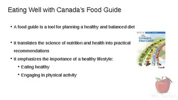 HFA4U - Eating Well with Canada's Food Guide