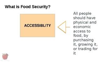 HFA4U - Food Security