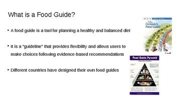 HFA4U - History of the Food Guide