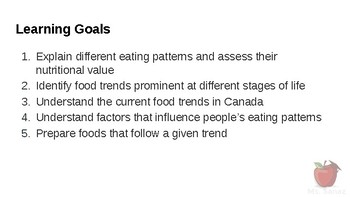 HFA4U-Nutrients and Health - Trends in Eating Patterns