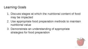 HFA4U - Preserving Nutrients in Foods