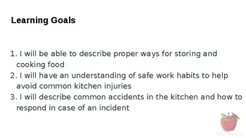 HFA4U - Safety and Food Preparation in the Kitchen