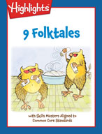 9 Folktales with Skills Masters Aligned to Common Core Standards