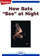 """How bats """"see"""" at night"""
