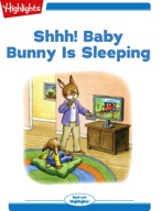 Shhh! Baby Bunny Is Sleeping
