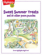 Sweet Summer Treats and 18 other poem puzzles