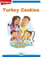 Tex and Indi: Turkey Cookies