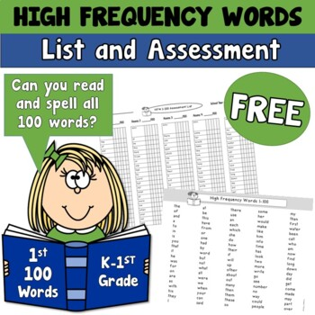 Fry High Frequency Word Lists and Assessments 1-300