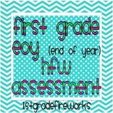 HFW Assessment Grade 1 EOY