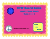 FUNtastic Board Game Level 1: Trick Words Units 11-14
