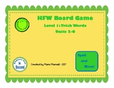 FUNtastic Board Game Level 1: Trick Words Units 2-6