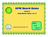 HFW Board Game Level 2:  Trick Words- Units 12-17