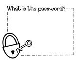 HFW Password Sign & HFW Ticket Out the Door